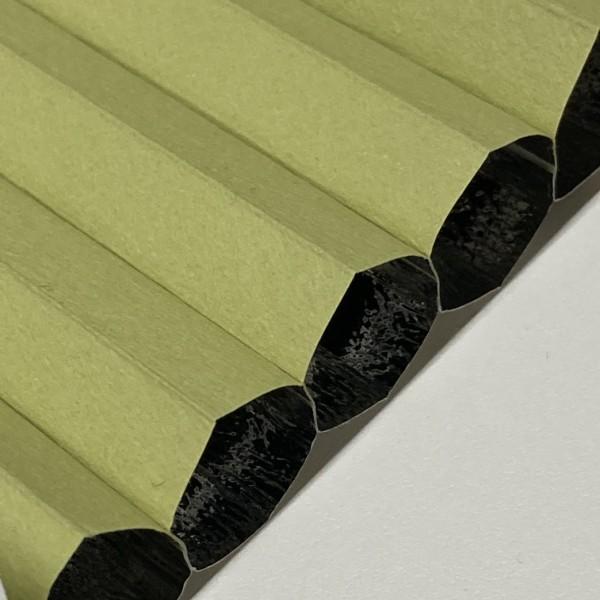 Wabenplissee 100% verdunkelnd Soft Green