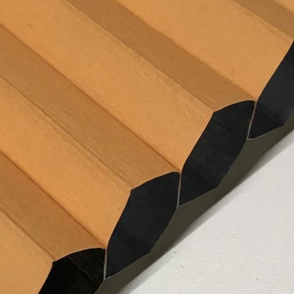 Wabenplissee 100% verdunkelnd Soft Orange