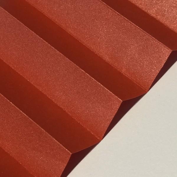Plissee Vegas Metallic Rot