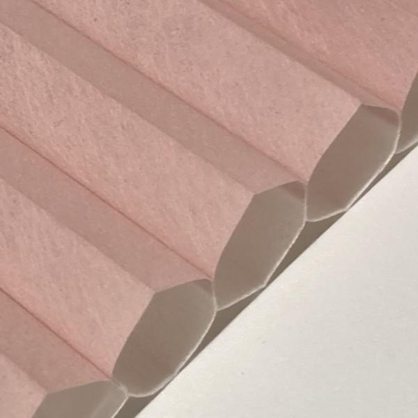 Wabenplissee Soft Rosé