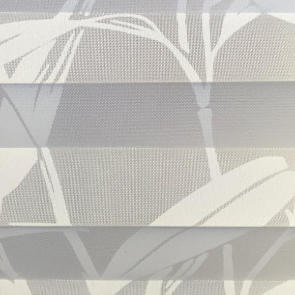 Plissee Papyrus Weiß