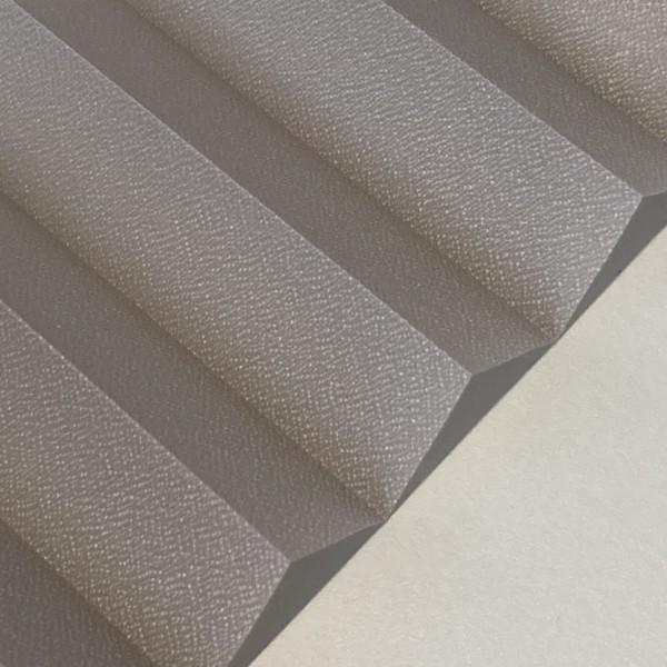 Plissee Kyoto Perl Silber-Grau