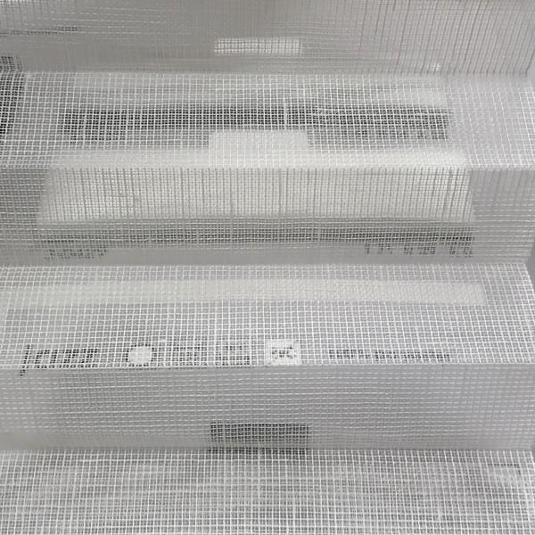 Plissee Transparent Jazz Weiß