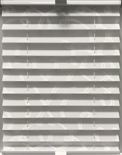 Plissee Infinite Weiß-Weiß