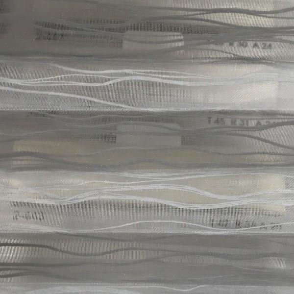 Plissee Ballet Transparent Grau