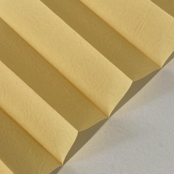 Plissee Crush-Light Gelb