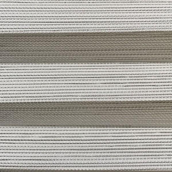 Plissee Mina Weiß-Grau