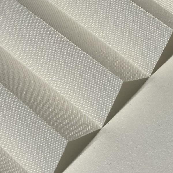 Plissee Samba Weiß