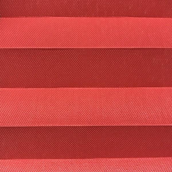 Plissee Samba Red