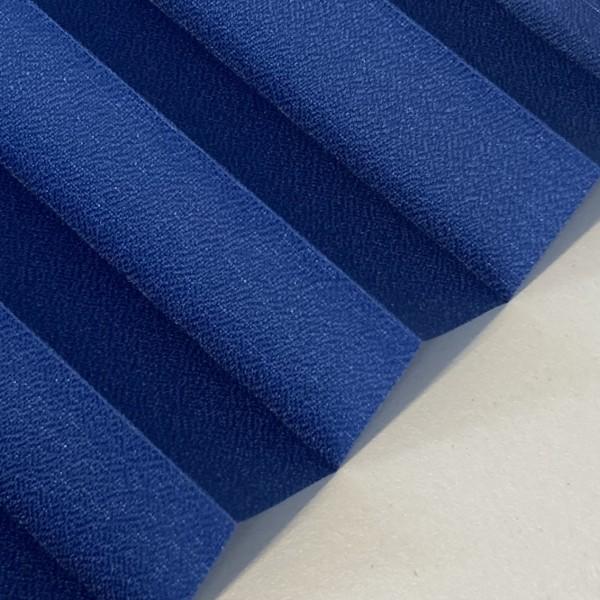 Plissee Kyoto Perl Marineblau