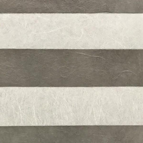 Plissee Dance Silber-Grau
