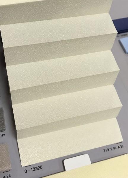 Plissee Slimline Kyoto Perl Creme 16mm