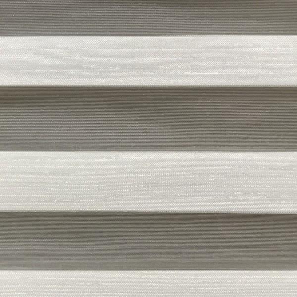 Plissee Slimline Madagaskar Perl Weiß 15mm