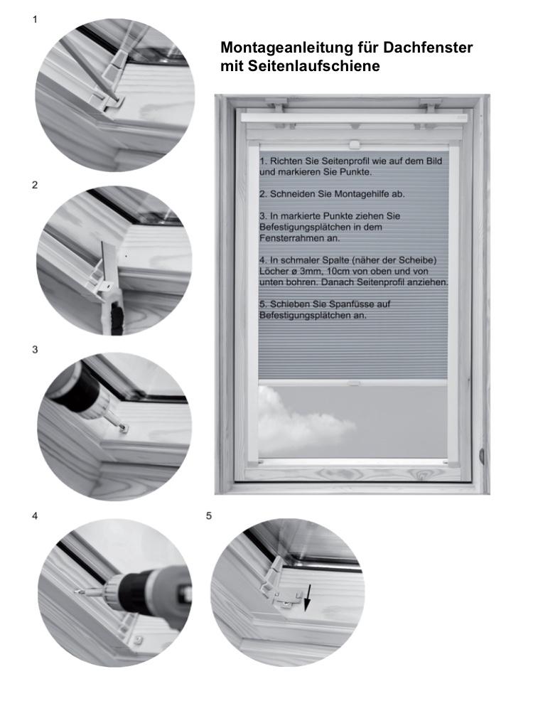 Montageanleitung-Dachfenster