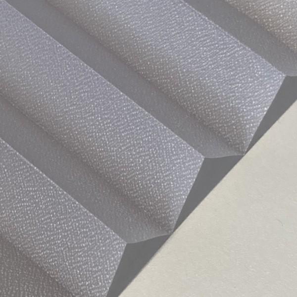 Plissee Kyoto Perl Rauch-Grau