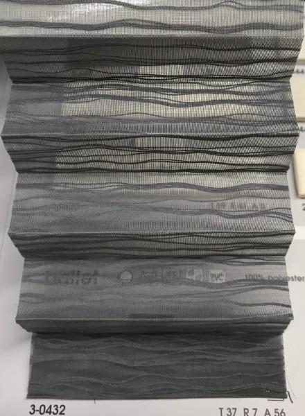 Plissee Ballet Transparent Black
