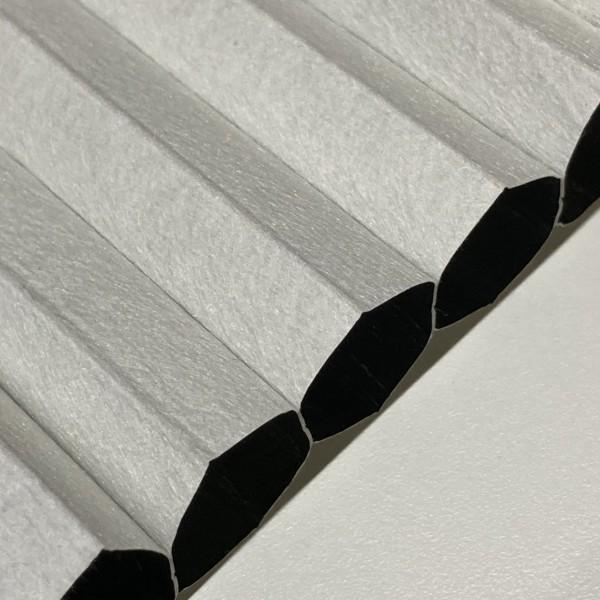 Wabenplissee 100% verdunkelnd Soft Weiß