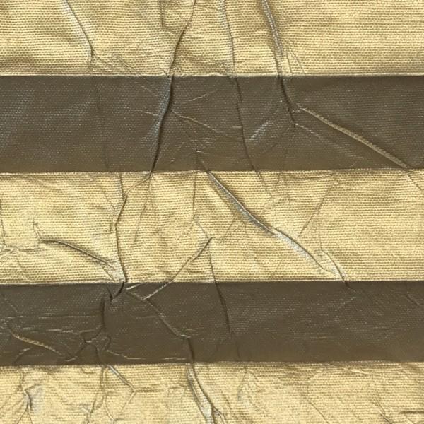 Plissee Vegas Metallic Gold
